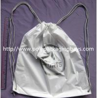 Durable Colorful Plastic Drawstring Travel Bags For Underwear Manufactures