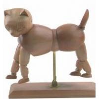 Vivid Craft Artist Wooden Manikin Dog / Cat Mannequin Good Design Manufactures