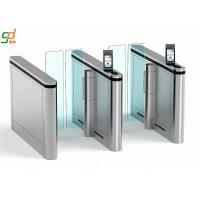 Recognition Supermarket Swing Gate,Access Control Manager Glass Arm Turnstyle Manufactures