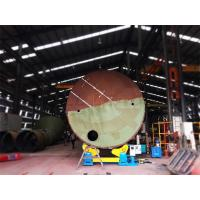 40T Self Aligned Welding Rotator For Air Receivers Casing Pipes And Process Tanks Manufactures