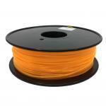Fluorescent Orange HIPS 3d Printer Filament 1.75mm For Makerbot No Odor Manufactures