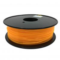 Quality Fluorescent Orange HIPS 3d Printer Filament 1.75mm For Makerbot No Odor for sale