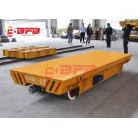 10tons Flexible Heavy Duty Quad Steer Carts , Free Maintenance Material Handling Trolley Manufactures