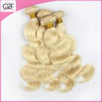 Beauty Hair Products 613# Virgin Body Wave 20 inch Individual Bonded Hair Extensions Manufactures