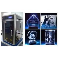 High Accuracy 3D Crystal Laser Engraving Equipment Portable Design Manufactures