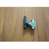 Polyurethane Sprayer Replacement Parts 2 Way Ball Valve Ce Certificated