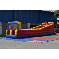Outdoor 0.55mm PVC Tarpaulin Inflatable Sports Games , Runway Manufactures