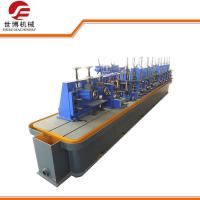 High Frequency Welded Carbon Steel Pipe Making Machine For Round Square Tube Manufactures