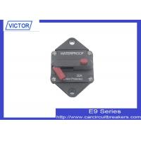 Manual Reset Switchable Circuit Breaker for Automotive Panel Mount Circuit Breaker Manufactures