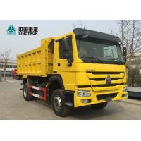Buy cheap SINOTRUK HOWO 266hp Heavy Duty Truck Trailers 4x2 6 Wheels Mini Dump Truck from wholesalers