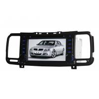 In Dash Car GPS Navigation System With MP3 MP4 WMA , Car GPS DVD Manufactures