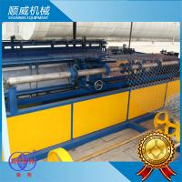 5.5KW Power Chain Link Fence Equipment Weaving Breadth 0.5m - 4.2m Manufactures