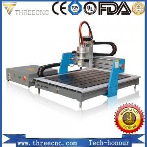 Advertising cnc router 6090 / mini wood design cutting machine for PCB /PVC/ Aluminum/Copper TMG6090-THREECNC Manufactures