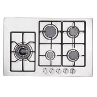 Popular Five Ring Gas Hob / 5 Burner Gas Stove With Safety Device Auto Ignition Manufactures