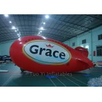 Colorful Giant Advertising Zeppelin , Helium Airplane for Entertainment Event Manufactures