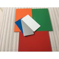 Easy To Maintain Waterproof Aluminium Composite Sheet With 70 Colors Optional Manufactures