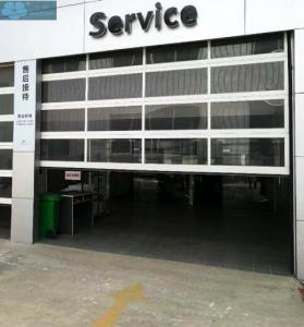Motorized Aluminum Frame Glass Insulated Clear Garage Door Manufactures