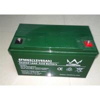 Green 6FM65 12 Volt 65ah Deep Cycle Sealed Lead Acid Battery With Low Self Discharge Manufactures