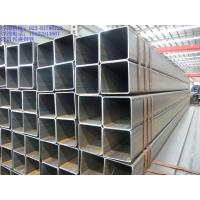 Non Alloy Welded Galvanised Steel Square Tube Hollow Section Black Manufactures