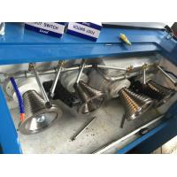 Industrial Aluminium Cone Wire Drawing Machine 0.2mm-0.8mm Outlet Diameter Manufactures