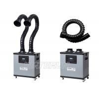 200W Intelligent Solder Smoke Extractor Portable Two Flexible Arm Manufactures