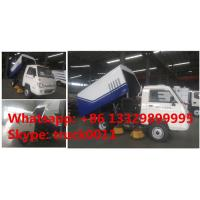 cheapest price forland RHD mini road sweeper truck for sale, factory direcr sale best price forland sweeping vehicle Manufactures