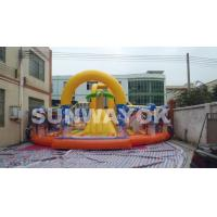 Spongebob Children Inflatable Jumping Bouncer / inflatable Activities For Entertainment Manufactures
