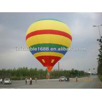 Colorful Self Inflating Advertising Balloons , Inflatable Helium Balloon Manufactures