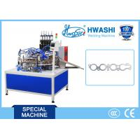 Motor Spacer Automatic Welding Machine High Control Precision With Rotary Platform Manufactures
