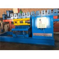 China Steel Sheet Coils Hydraulic Decoiler Machine 1250mm Coil Width 5 Tons Capacity on sale