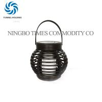 Quick Installation Solar LED Lantern / Outdoor Candle Lanterns For Patio Manufactures