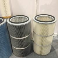 anti-static pleated filter cartridge DN 152x 2000mm height for sand dust collector Manufactures