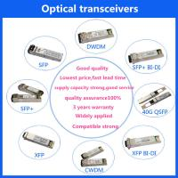 China 40G QSFP28 TRANSCEIVERS SFP LR FIBER OPTIC SFP+ MODULES 100G QSFP+ Transceiver on sale