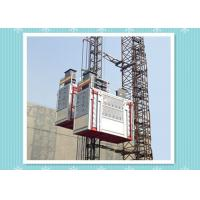 1 Cabin Construction Hoist Elevator SC200/200 For Personnel / Material Lifting Manufactures