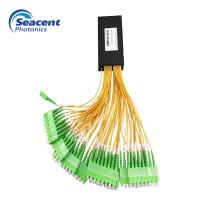 1X64 ABS Type PLC Splitter Module Excellent Environmental Stability In FTTH Manufactures