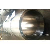 S S Forged Steel Products / Forged Ring Flange Cylinder With Machining Manufactures