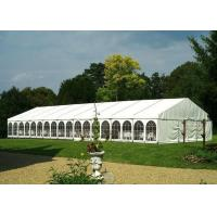 200 Capacity Outside Large Wedding Tents With White PVC Canvas Canopy Manufactures