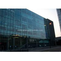 Flat 10MM Tempered Safety Glass Low Visible Distortion , Milk White Laminated Glass Manufactures
