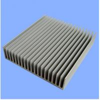 Quality Silver Mill Finished Aluminum Heatsink Extrusion Profiles  for sale