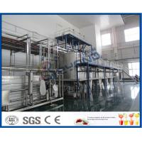 PLC Control Beverage Production Line For Tea beverage Manufacturing Industry Manufactures