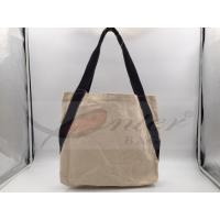 Various Sizes / Colors Travel Tote Bags With Two Durable Black Handle Manufactures