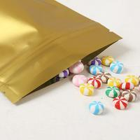 Reusable Aluminium Foil Stand Up Coffee Packaging Bags Tea Cookie Packing Bag With Zip Lock Manufactures