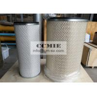 Heat / Oil Resistant XCMG Steel Air Filter 2527625277 For Heavy Construction Equipment Manufactures