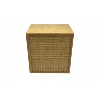 Bamboo 20KG Laundry Basket Hamper With 2 Bags Manufactures