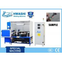 Carbon Brush  AC Spot Automatic Welding Machine Copper Wire Projection Welder Manufactures