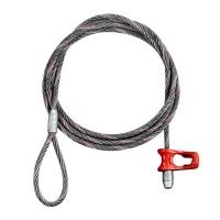 """3/4"""" x 30 ft Wire Rope Chokers Eye & Nub Cat-Style - 41000 lbs Breaking Strength Manufactures"""