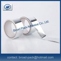 F/R Grade HVAC/R Aluminum Foil Tapes With Solvent Acrylic Adhesive Manufactures