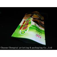 Buy cheap High Barrier Stand Up Tea Packaging Pouches With Metallic Eco Friendly Material from wholesalers