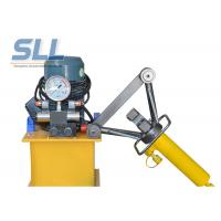 Portable Manual Hydraulic Steel Bending Machine / Concrete Spraying Equipment Manufactures