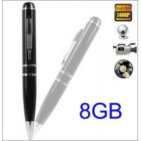China Hidden Camera | 1080P PEN Video Recorder camera 8GB mini hidden Pen Camera pen DVR Camcord on sale